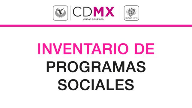 Inventario de Programas Sociales