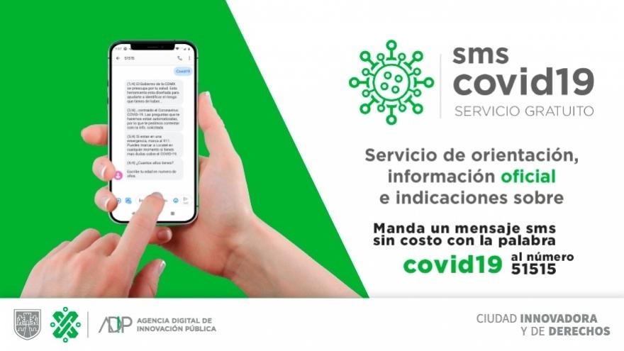 Servicio de información SMS Covid-19
